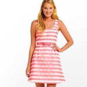 Lilly Pulitzer Pink Joslin Flutter Ribbon Stripe